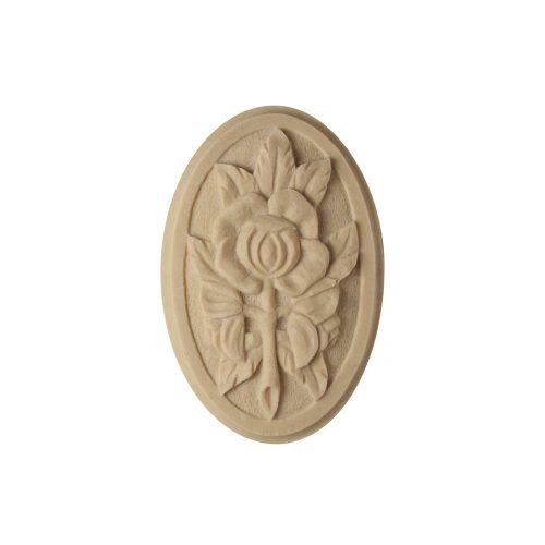 054/D Oval Rose Patera - Decora Mouldings
