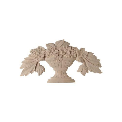 74/D Flower Basket DecWOOD Carving Decora Mouldings