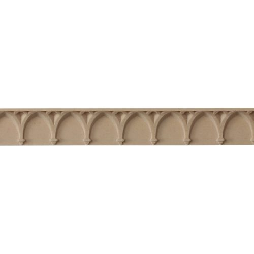 084/D Gothic Arch with Solid Backing Moulding - Decora Mouldings