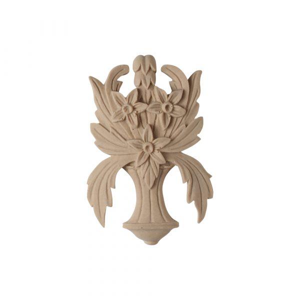 096/D Floral Centerpiece - Decora Mouldings