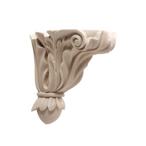 120/D Acanthus Shelf Bracket - Decora Mouldings