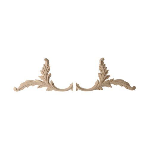 134/D Pair Leaves Freize - Decora Mouldings