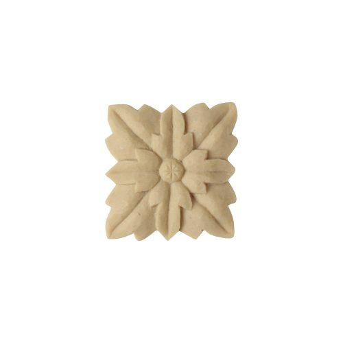 139/D Square Flower Applique - Decora Mouldings