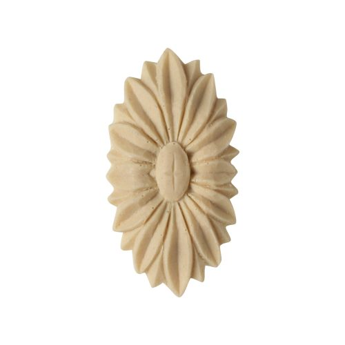 170/D Oval Flower Patera - Decora Mouldings