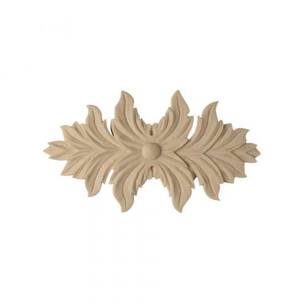 184/D Centre Leaf Applique - Decora Mouldings