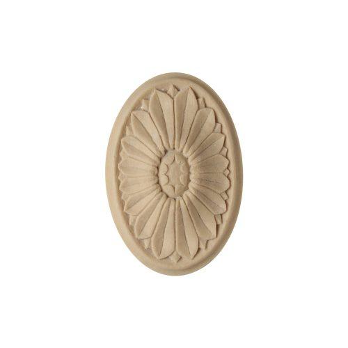 185/D Oval Flower Patera - Decora Mouldings