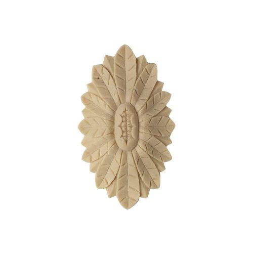202/D Oval Flower Patera - Decora Mouldings