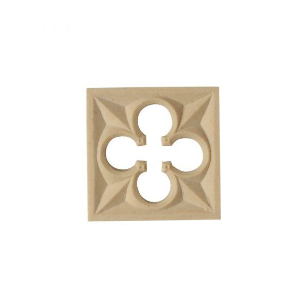 219/D Square Gothic Patera - Decora Mouldings