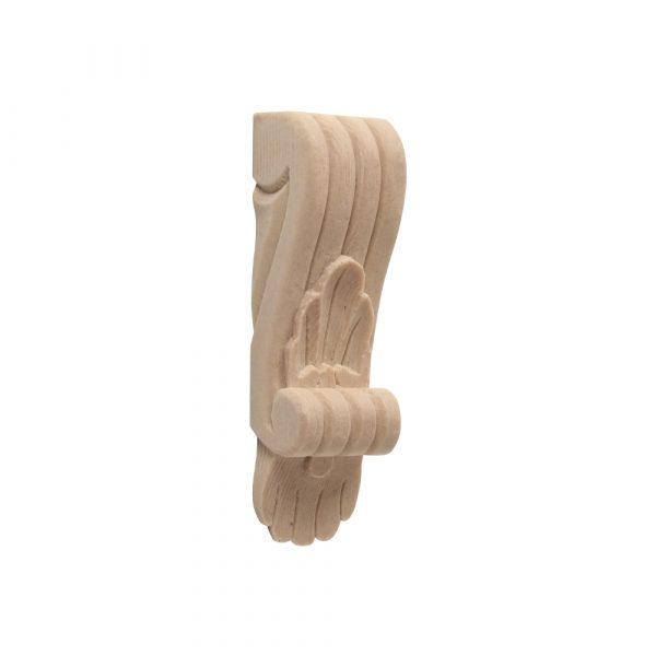 261/D Narrow Shell Corbel - Decora Mouldings