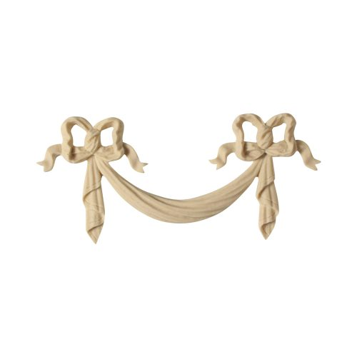 266/D Small Bow & Swag - Decora Mouldings