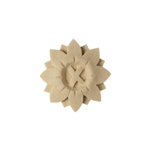 297/D Round Flower Patera - Decora Mouldings