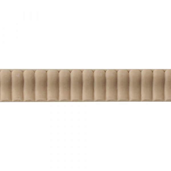 303/D Small Reeded Strip Moulding - Decora Mouldings