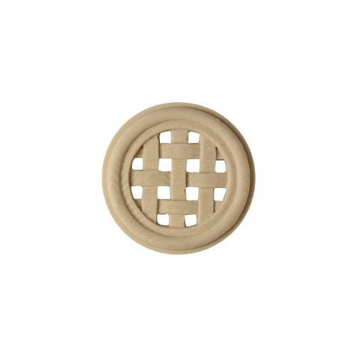 315/D Circular Weave Patera - Decora Mouldings