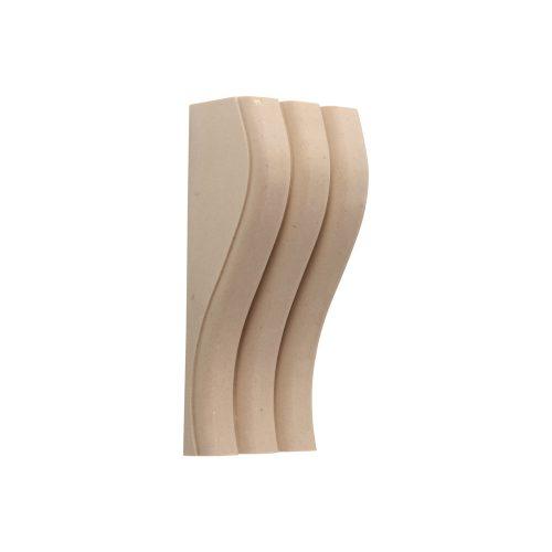 365/D Triple Ribbed Corbel - Decora Mouldings
