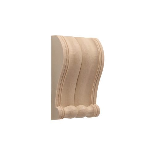 410/D Slim Reeded Corbel - Decora Mouldings