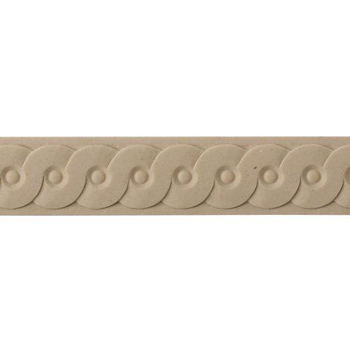 415/D Interlocking Circular Strip Moulding - Decora Mouldings