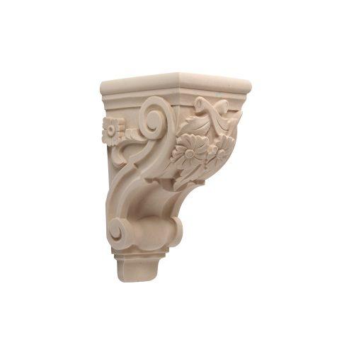 454/D Floral Scroll Corbel - Decora Mouldings