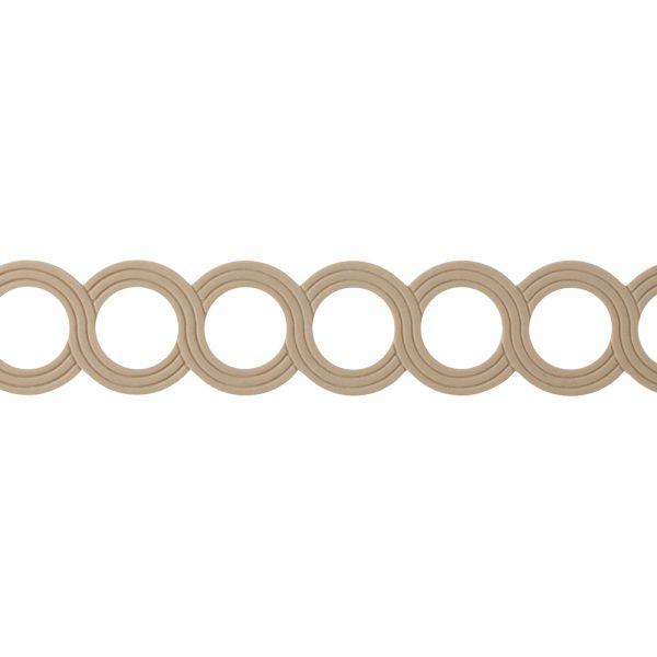 460/D Circles Fretwork Moulding - Decora Mouldings