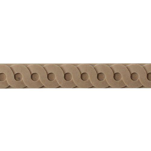 475/D Interlocking Circles Moulding - Decora Mouldings
