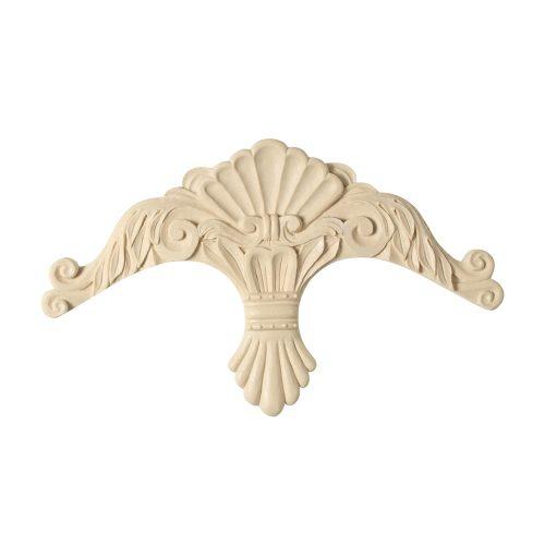 495/D French Crest Pediment - Decora Mouldings