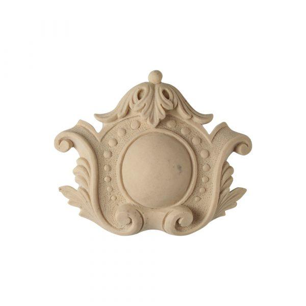 518/D Shield Crest Centre - Decora Mouldings