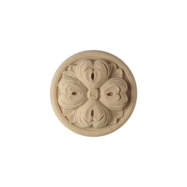525/D Flower Roundel - Decora Mouldings