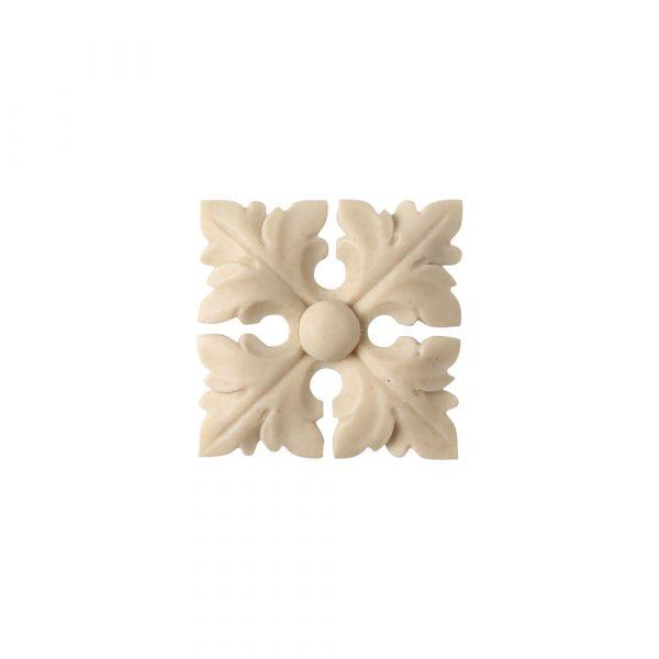 559/D Square Leaf Patera - Decora Mouldings