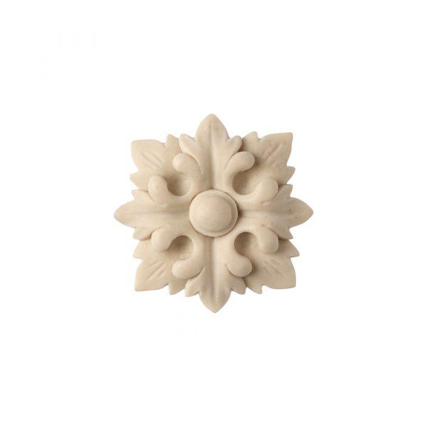 560/D Square Flower Patera - Decora Mouldings