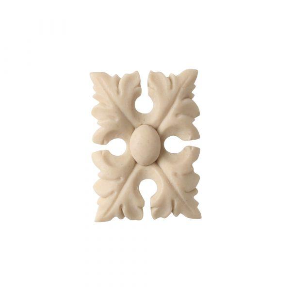 561/D Rectangle Leaf Patera - Decora Mouldings