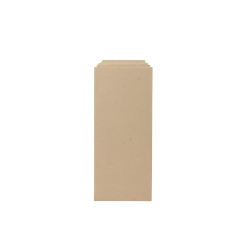 334/D Flat Column Base Block - Decora Mouldings
