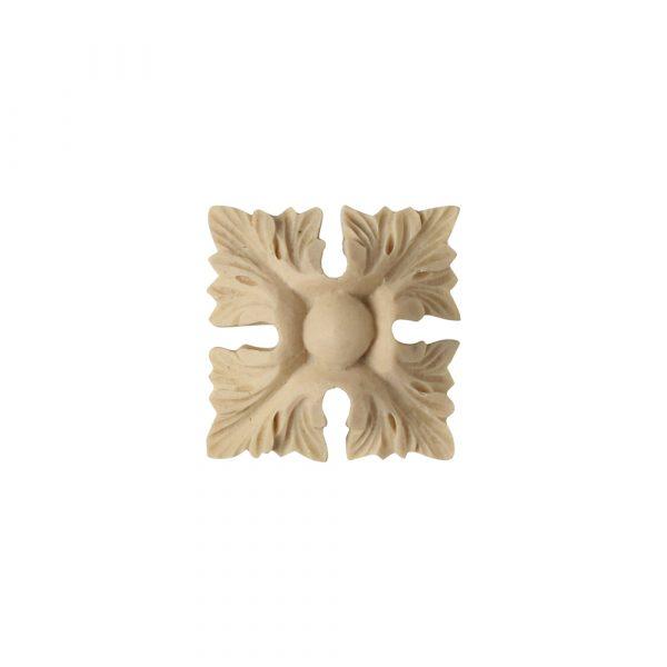 534/D Square Leaf Patera - Decora Mouldings