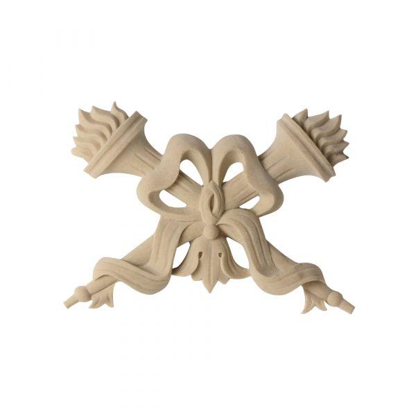 574/D Flame & Torches Applique - Decora Mouldings
