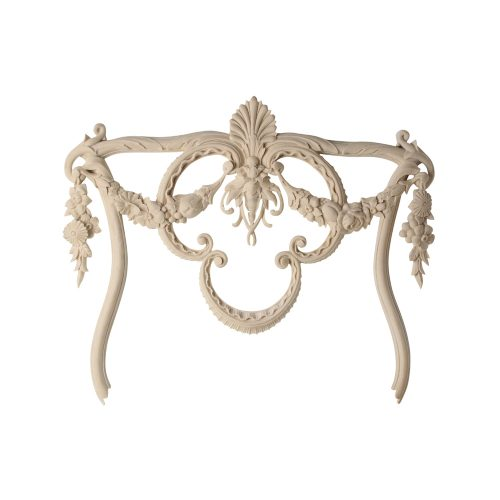 580/D Louis French Swag Detail - Decora Mouldings
