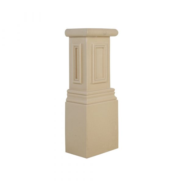 581/D Exterior Doorway Column Base Block - Decora Mouldings