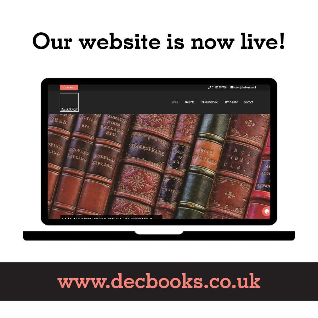 DecBOOKS Faux Books website is now live - Secret Door, Hidden Bookcase projects